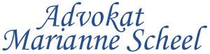 Advokat Marianne Scheel Logo